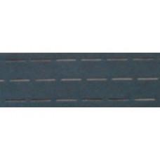 Vlieseline tailleband Plak  en vouw om 2.5 cm zwart (per meter)