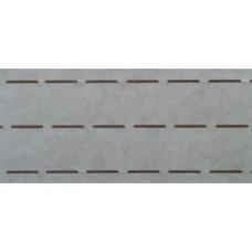 Vlieseline tailleband Plak en vouw om 3.5 cm wit (per meter)