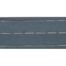 Vlieseline tailleband Plak en vouw om 3.5 cm zwart (per meter)